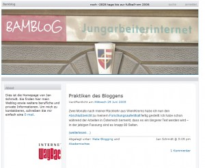 Bamblog 2005